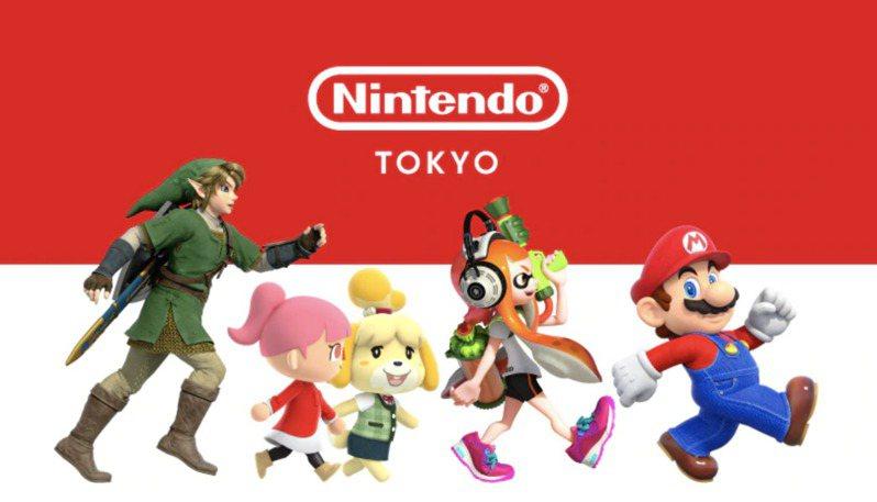 任天堂旗下明星商品「超級瑪利歐兄弟」。圖/取自Nintendo TOKYO官網