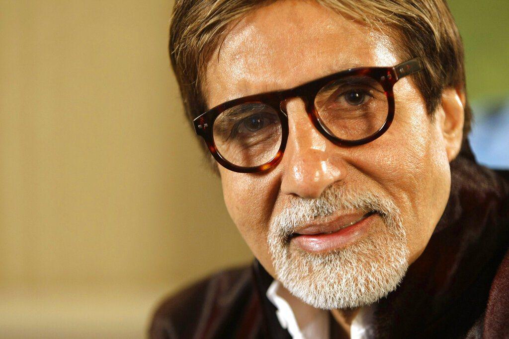 寶萊塢國寶級巨星阿米塔巴昌。 圖/美聯社