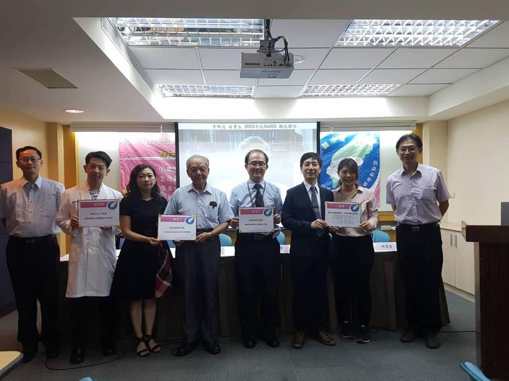 台灣兒童健康照護網推動聯盟今呼籲政府應重視兒童醫療權。記者楊雅棠/攝影