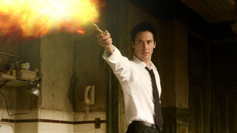 基努李維主演的「康斯坦汀:驅魔神探」多年來一直被許多影迷喜愛。圖/摘自推特