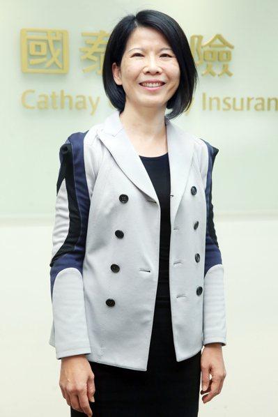 國泰產險副總經理翁翠柳(本報系資料庫)