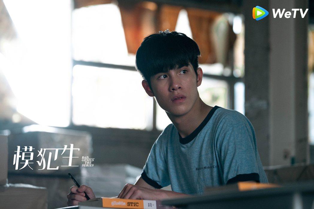 泰國19歲星二代鮮肉Jaonaay飾電視劇「模犯生」男主角「阿班」。圖/WeTV...