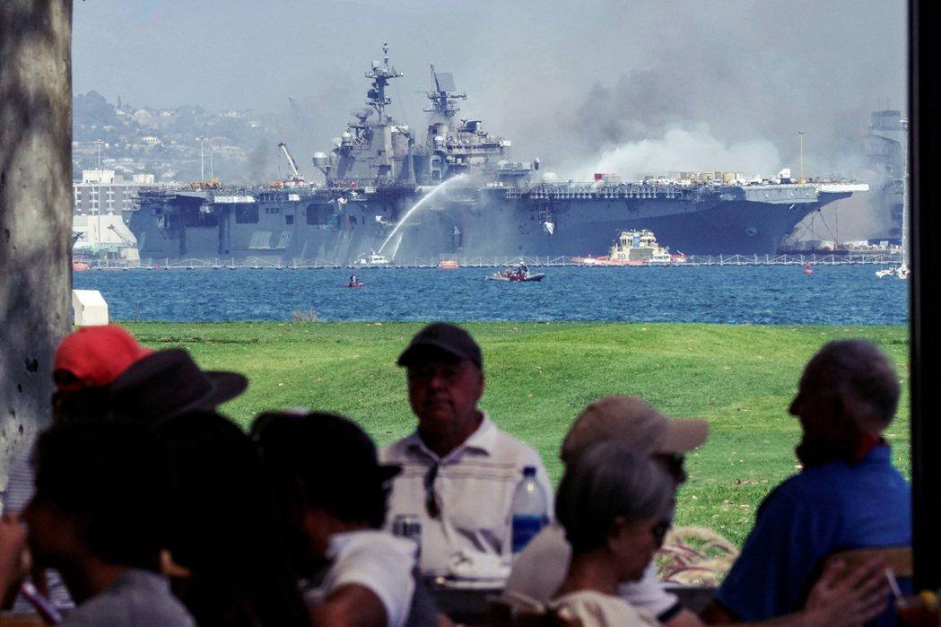目前已知17名水兵、4名平民,一共21人輕傷,但整體的急難狀況已最大程度地得到控...