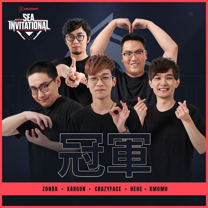 《VALORANT 特戰英豪》東南亞邀請賽,由來自台灣的TEMPEST戰隊拿下冠...