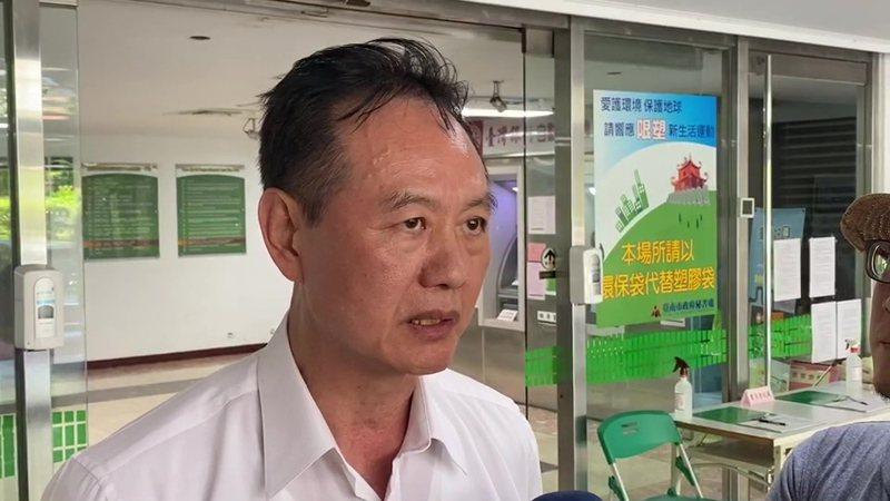 台南市警察局長周幼偉說,他自認為對於台南的治安工作,他問心無愧。記者黃宣翰/攝影