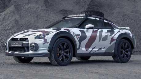 影/Nissan GT-R能越野?這輛老戰神只要改一改什麼都做得到!