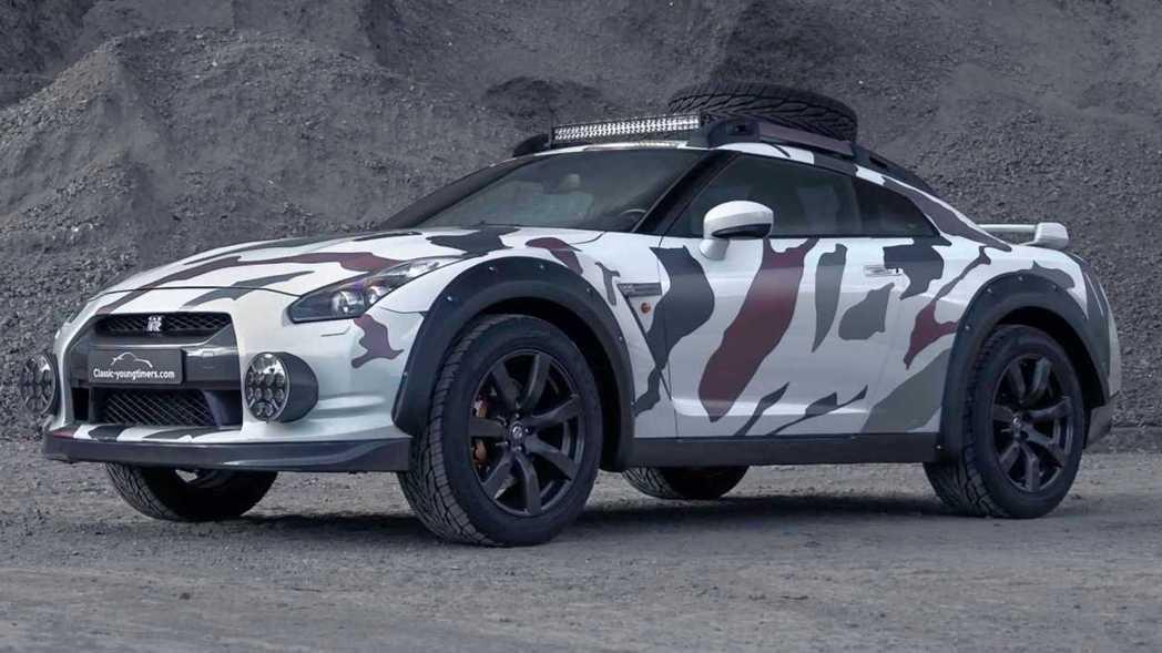 Nissan GT-R越野式樣Godzilla 2.0。 摘自Classic Y...