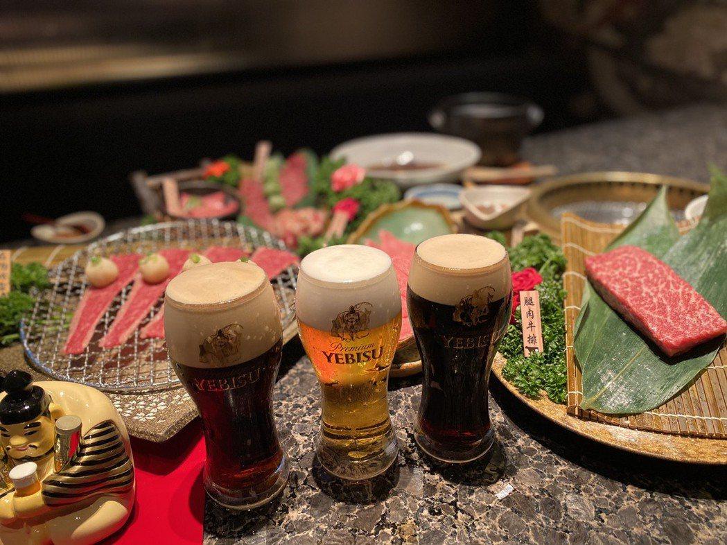 「YEBISU惠比壽啤酒」在老乾杯搶先獨家販售,為期兩個月,雙奢加乘的極致饗宴,...