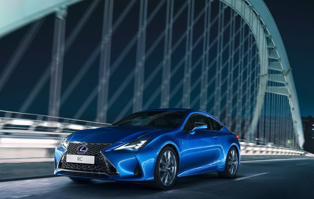 Lexus RC新年式將增加一些配備。 摘自Lexus