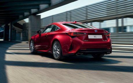 日規新年式Lexus RC/RC F將有小升級 電子手煞車和全速域ACC成為標配!