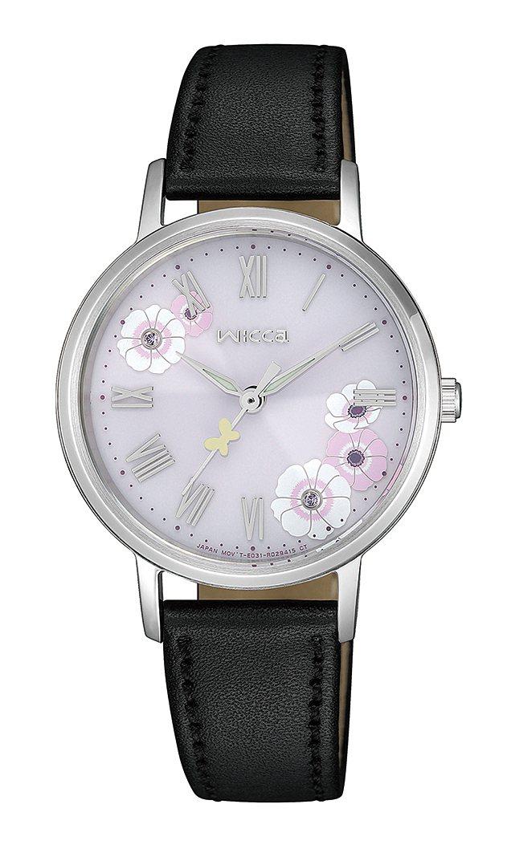 wicca KP5-115-12太陽能腕錶,不鏽鋼錶殼6,900元。 圖/CIT...