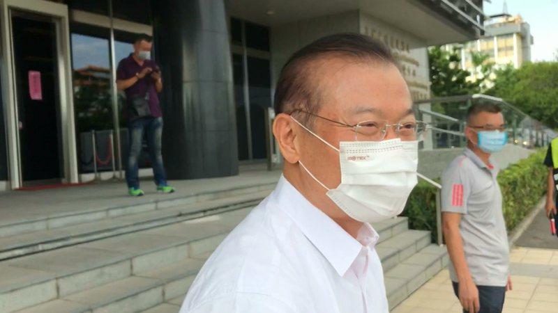 高雄市警察局發出局長李永癸聲明,尊重警政署做法。記者林伯驊/攝