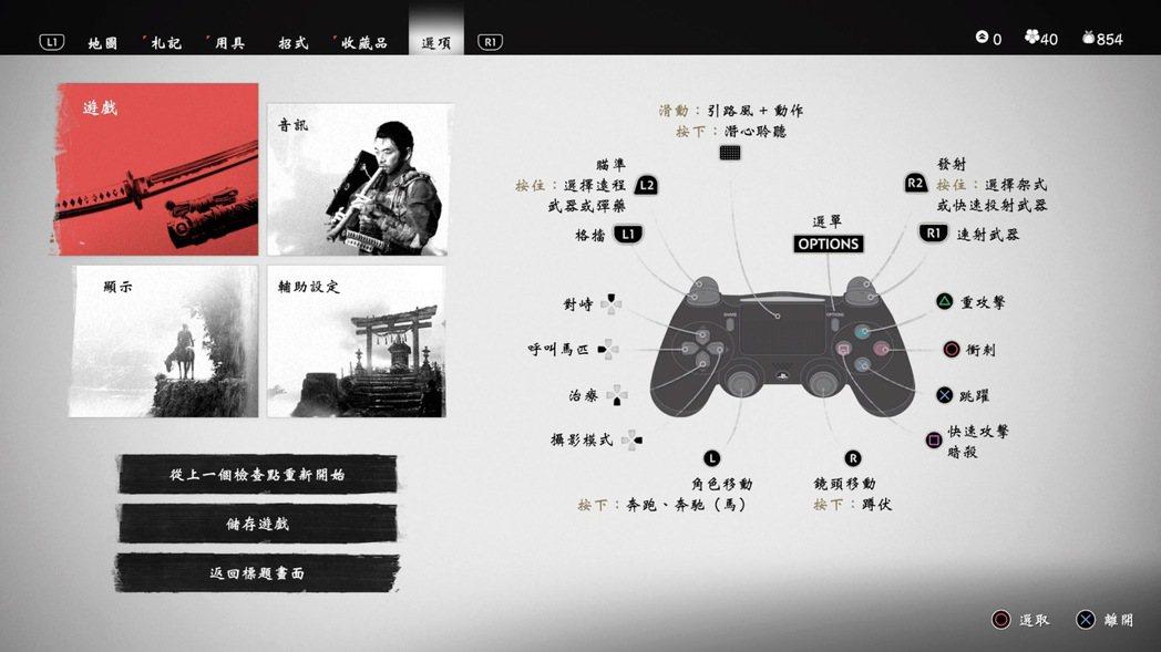 大量的可控內容,本作已將PS4手把按鍵功能的可能性近乎榨乾