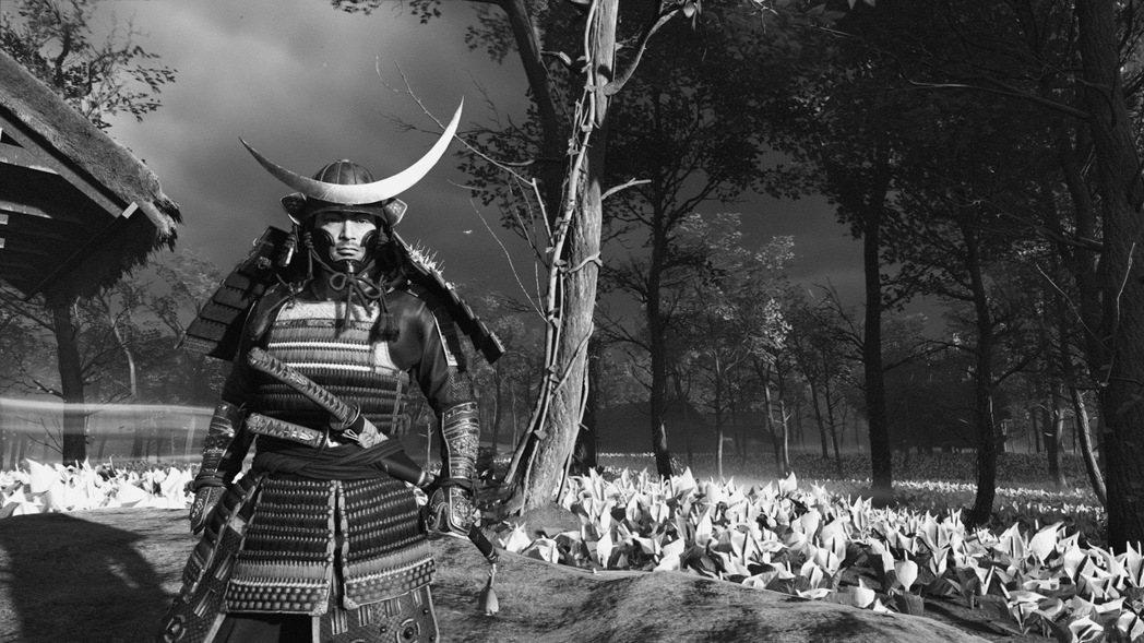 SP社對日本武士的狂熱,讓他們甚至在遊戲裡放了「黑澤模式」的老電影風格給玩家