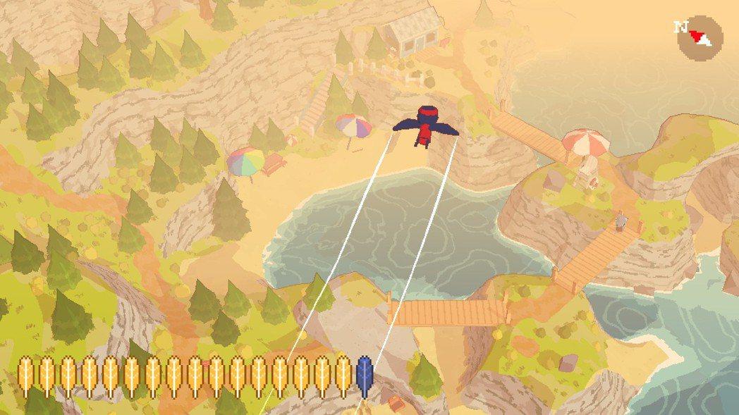 欣赏美丽的风景也是这款游戏的乐趣之一。