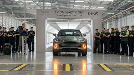 被疫情耽誤的豪華休旅 Aston Martin DBX本月終於正式投產!