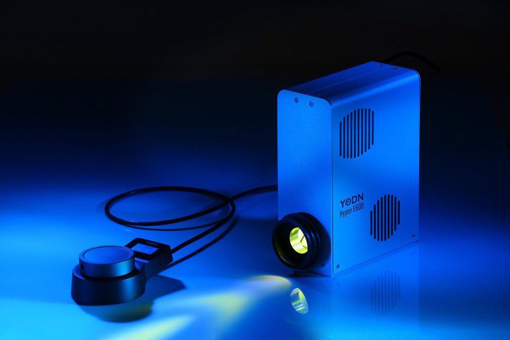 YODN Hyper E600 為科研單位最適產品,廣域型光譜以及多種控制模式獲...