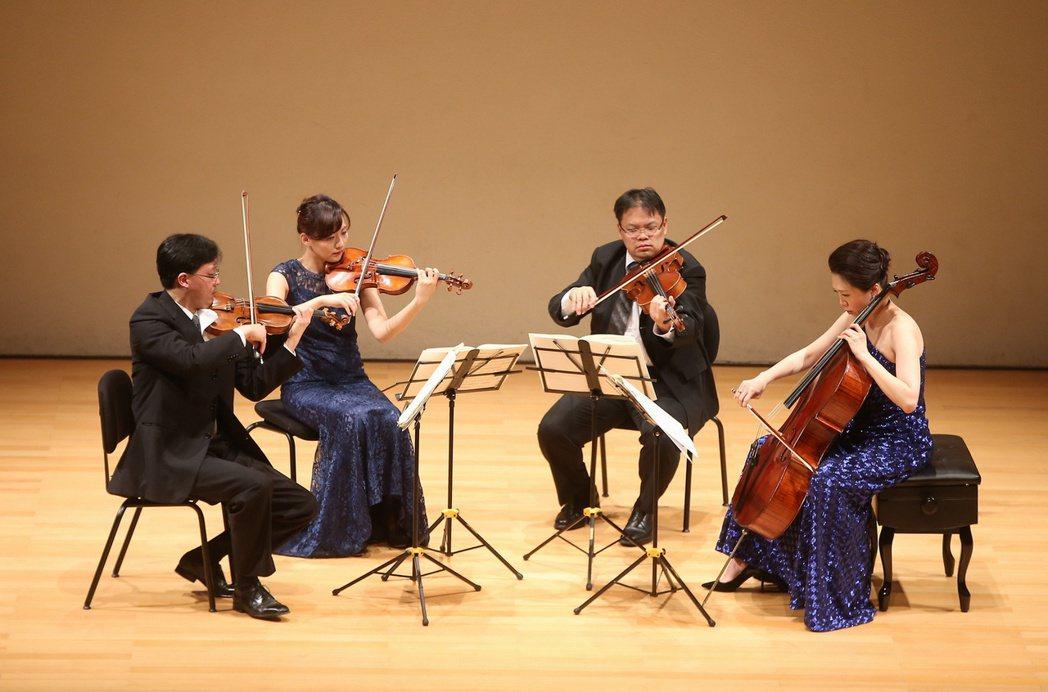 奇美樂展「貝多芬音樂節」Infinite首席四重奏。奇美博物館/提供