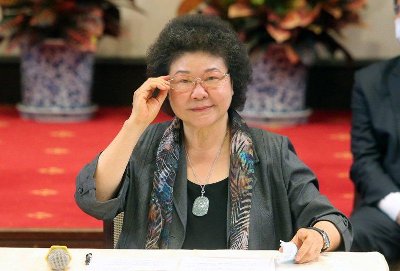 監察院長被提名人陳菊。聯合報系資料照片/記者胡經周攝影