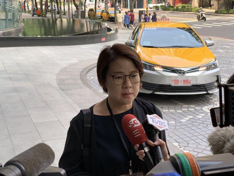 台北市副市長黃珊珊今至新北政府召開YouBike相關會議。記者胡瑞玲/攝影