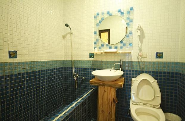 乾淨也常保乾燥幾乎無濕氣的衛浴間,使用後好快就乾了。(官網圖片)