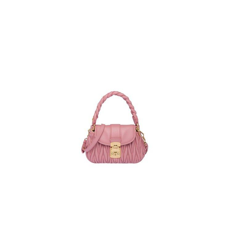 Coffer手提包,52,000元。圖/MIU MIU提供