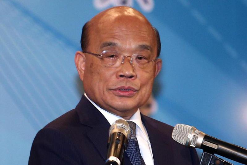 行政院長蘇貞昌表示,不要扭曲「聘約人員人事條例」草案。記者蘇健忠/攝影
