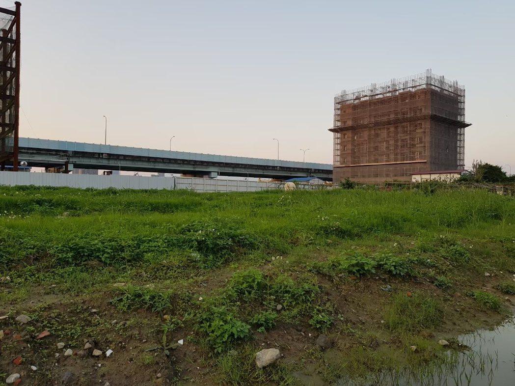 板橋江翠段基地現狀。圖/國家住都中心提供