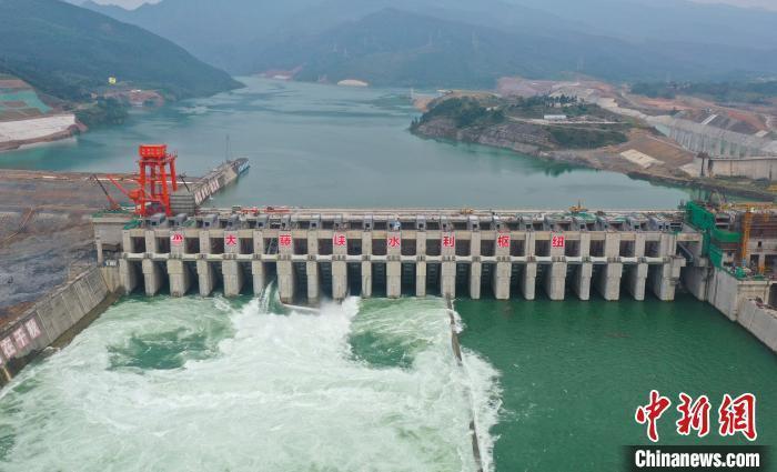 目前大陸已累計下達2020年度重大水利工程中央預算內投資528億人民幣。圖/取自中新網