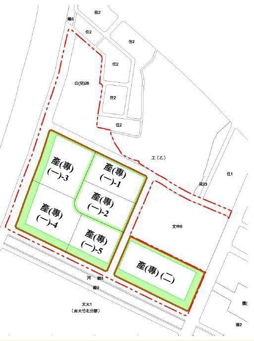 國際AI智慧園區基地坐落於竹北市莊敬北路、莊敬一路以及勝利八街路口,總開發面積約...