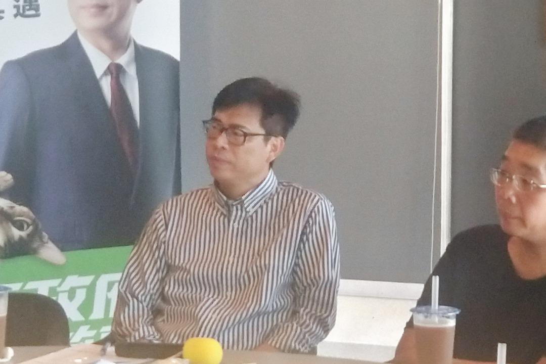 氣爆爭議屢遭質疑 陳其邁:陳菊經得起檢驗