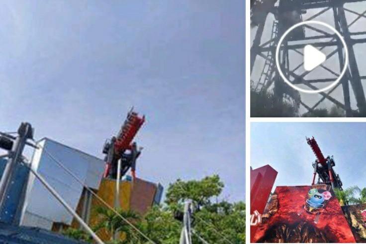麗寶樂園斷軌停住 業者協助20人從高空走到地面