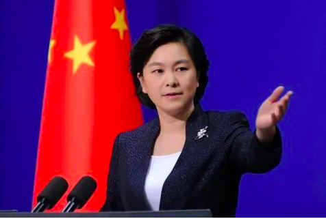 中共外交部發言人華春瑩。(環球時報)