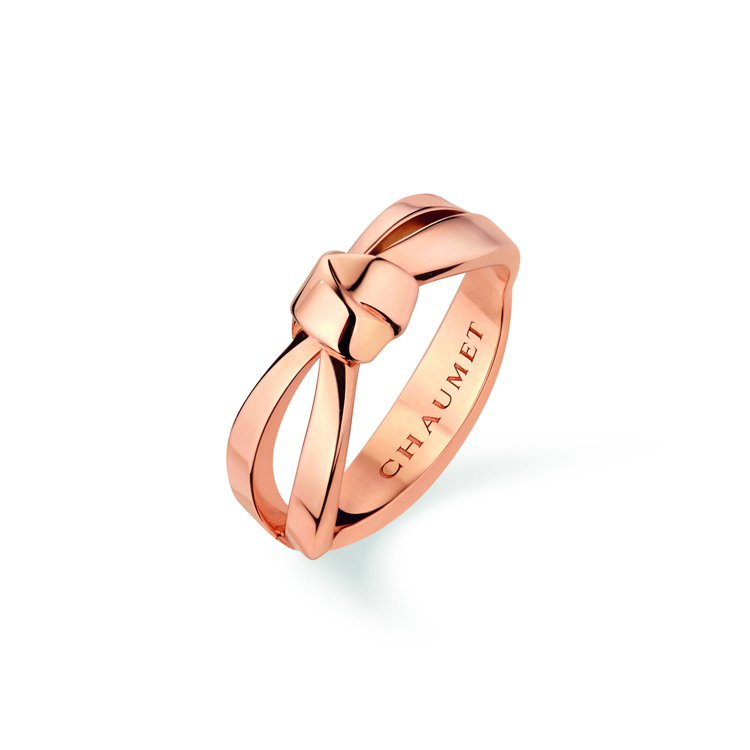CHAUMET Liens Seduction 18K玫瑰金戒指,69,000元...