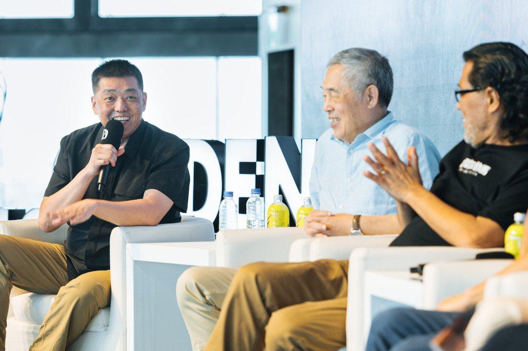 2020金馬電影大師課論壇,作曲家林強(左)。圖/金馬執委會提供