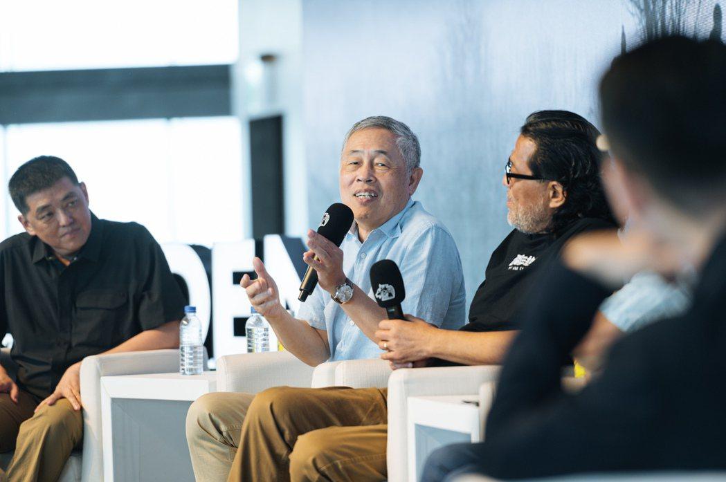 2020金馬電影大師課論壇,聲音指導杜篤之。圖/金馬執委會提供