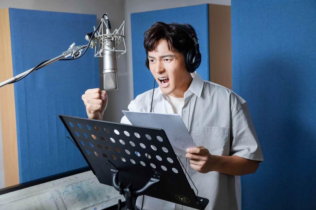 宥勝為風靡世界40年的卡通動畫「北海小英雄」全新角色獻聲。圖/華映提供