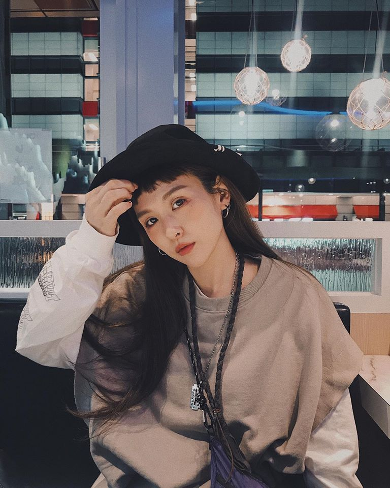 魏如昀年初被姊姊爆料有穩定交往對象。圖/摘自臉書