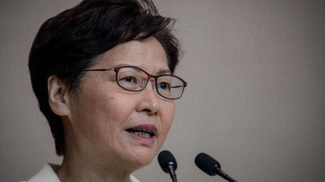 香港特首林鄭月娥表示,香港民主派初選可能違反了港版國安法。(圖/取自金融時報)