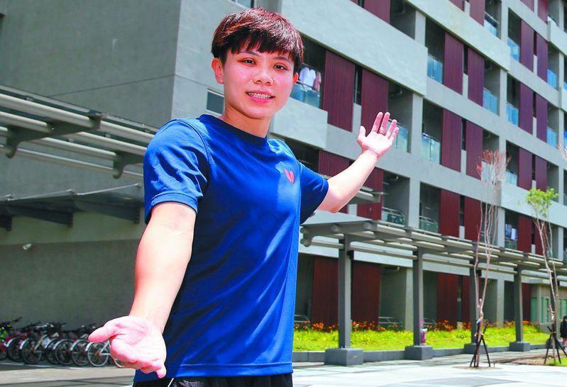 出征世界盃,目前人在中國的桌球一姐鄭怡靜歷經隔離,昨天終於「出關」練球。 聯合報系資料照