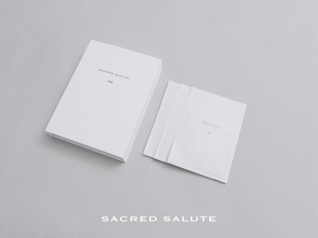 「孫懂 Sacred Salute」包裝採簡約設計。 孫懂Sacred Salu...