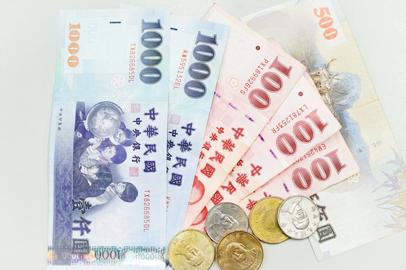 常見的新台幣面額。圖/聯合報系資料照片