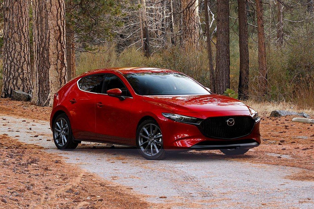 台灣馬自達推出2021年式Mazda 3,預計在8月開始交車。 圖/Mazda提...