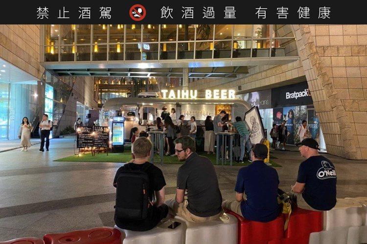 美麗華「台灣精釀啤酒節」,臺虎精釀即日起至7月19日推出。圖/摘自美麗華粉專
