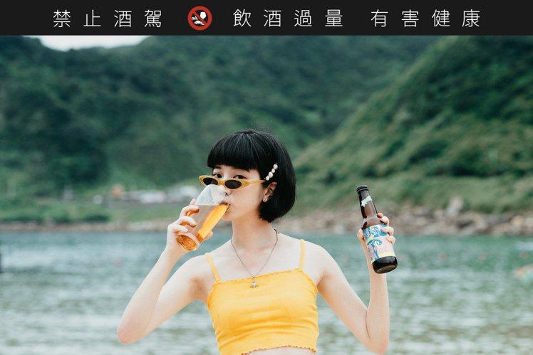浪人祭 X 酉鬼推出「素蘭小姐美式淡艾爾」。圖/酉鬼啤酒提供