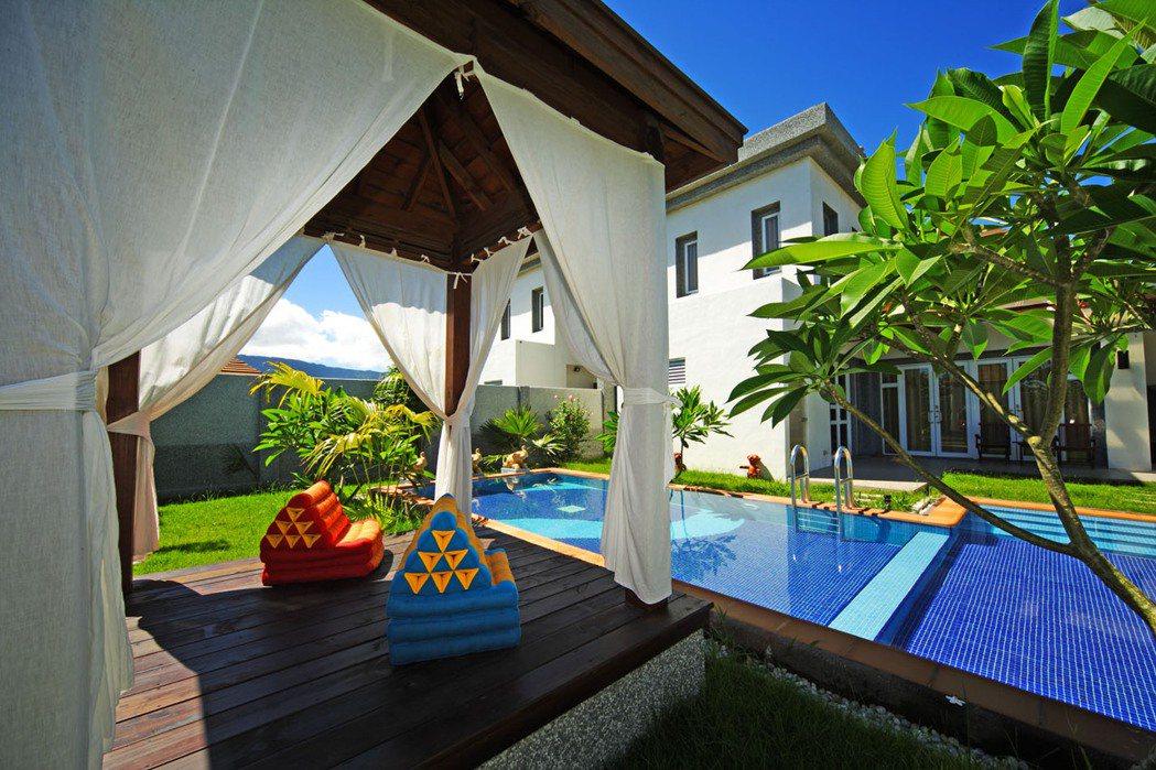 日暉池上公爵Villa 免出國享受渡假南洋風情。