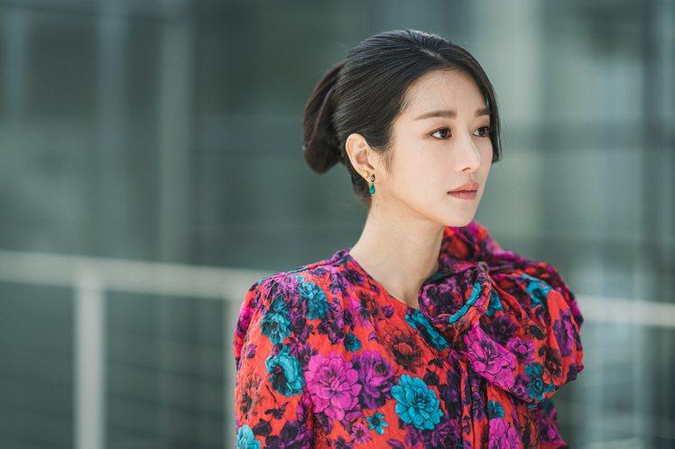 徐睿知在「雖然是精神病但沒關係」演出女主角。圖/Netflix提供