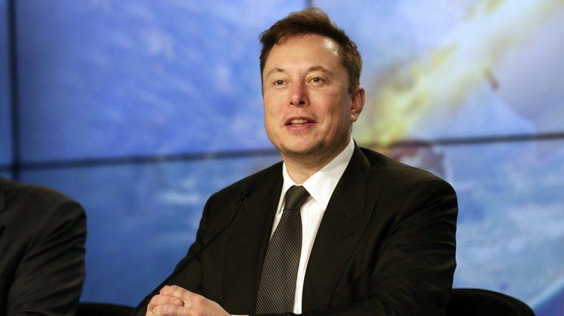 特斯拉(Tesla)執行長馬斯克。(圖/美聯社)