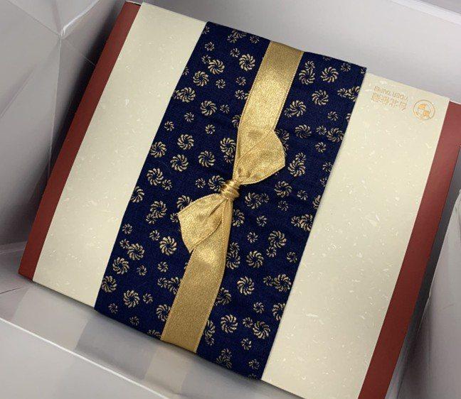 所長茶葉蛋是BMW新北經銷商依德汽車送給車主的生日禮。 網友提供