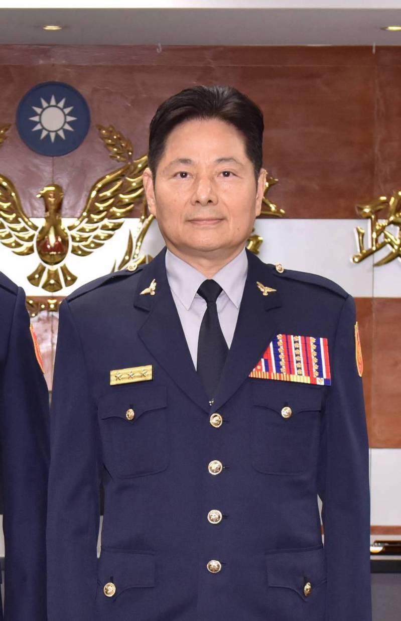 新任台南警察局長詹永茂,6月才剛從基隆市警察局長陞任警政委員,不到一個月又再升官。圖/警政署提供